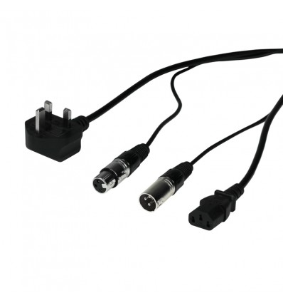 3m Combi XLR/Power Cable Lead