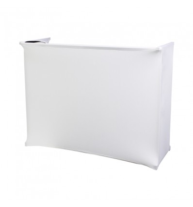 White Lycra Kit for 4ft Disco Stand Series