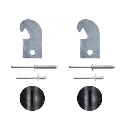 Pipe & Drape Cross Bar End Repair Kit