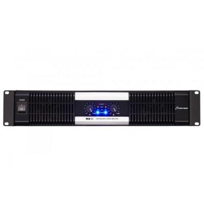 RX Series 2x500W to 2x2000W power amplifiers