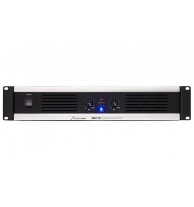 AX2 Series 2x450W to 2x1100W power amplifiers