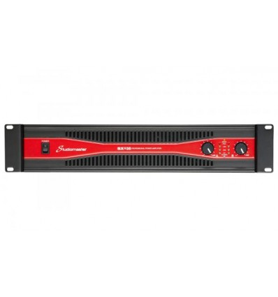 SX2 Series 2x800W to 2x1800W power amplifiers